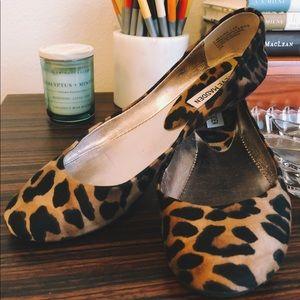 ⭐️STEVE MADDEN Cheetah Ballet Flats ⭐️